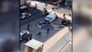 Veja imagens de Barcelona poucos depois do ataque