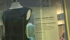 Coleção de Audrey Hepburn é exposta às vésperas de leilão