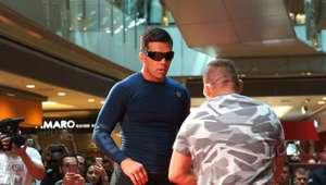 Astros do UFC São Paulo fazem treinos especiais