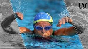 Nadadora de 93 anos que só começou a nadar aos 69