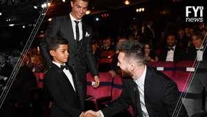 Filho de Cristiano Ronaldo é fã de Lionel Messi