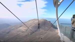 Emirados Árabes Unidos inauguram maior tirolesa do mundo