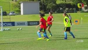 Seleção Feminina finaliza treinamentos para a Copa América