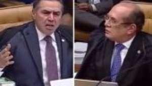 Gilmar e Barroso trocam ofensas em sessão no STF