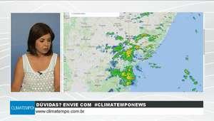 Volta a chover na costa leste do Nordeste