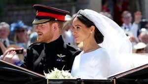 As cenas do casamento real entre o Príncipe Harry e Meghan Markle