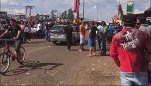 Dois atos em apoio a greve dos caminhoneiros serão realizados neste sábado