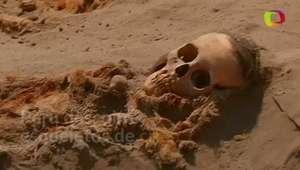 Peru encontra esqueletos de crianças sacrificadas em ritual