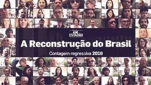Leticia Rocha participa da campanha 'A Reconstrução do Brasil - Contagem Regressiva 2018'