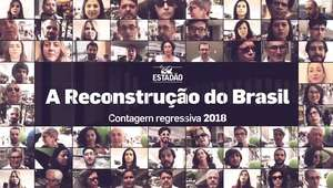 Lucas Pacheco de Carvalho participa da campanha 'A Reconstrução do Brasil - Contagem Regressiva 2018'