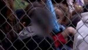 Gravação mostra sofrimento das crianças separadas da família na fronteira dos EUA