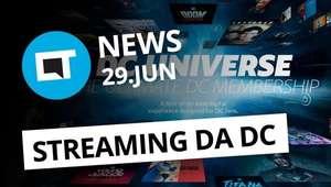 DC lança plataforma de streaming; Música nos Stories do Instagram e + [CT News]