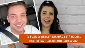 TV Fuxico: Wesley Safadão está com problema na voz?