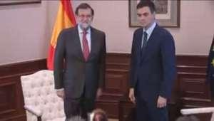Sánchez y Rajoy, sin acuerdo de Gobierno