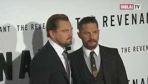 Tom Hardy perdió una apuesta contra Leonardo Di Caprio, y deberá hacerse un tatuaje   Mundo HOLA