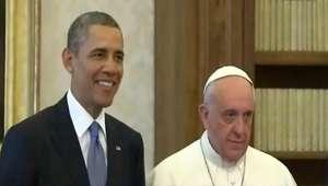 Veja como foi encontro entre Obama e Papa Francisco