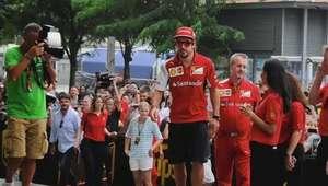 Fernando Alonso: 'en Singapur va a estar complicado el podio'