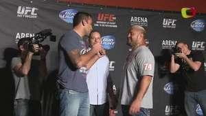 Fabricio Werdum le dio alegría al media day del UFC 180