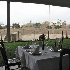 Lima tem restaurante com vista para ruínas de 1.500 anos