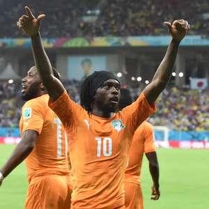 Costa do Marfim reage após entrada de Drogba e derrota Japão