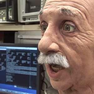 Robô igual a Albert Einstein é usado para estudo nos EUA