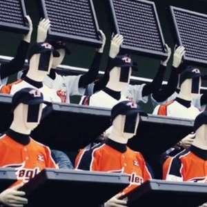Time de beisebol da Coreia do Sul usa robôs como torcedores
