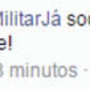 No Facebook, Exército recebe pedidos de intervenção militar
