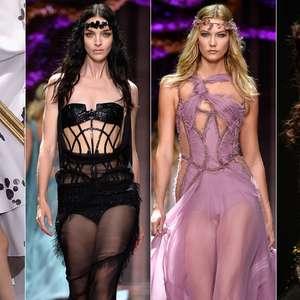 Isso é moda? Alta-costura apresenta ninfas e vestido-quadro