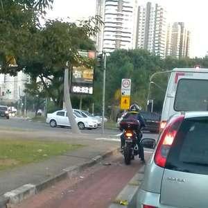 vc repórter: motos invadem ciclovia e fiscalização aumenta
