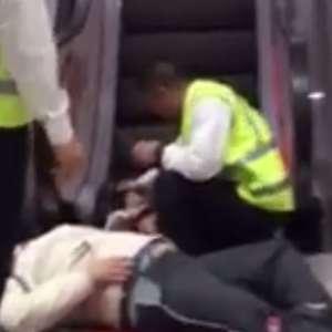 Lima: Accidente en escalera mecánica en centro comercial