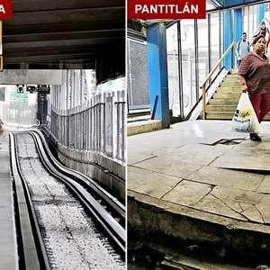 GDF gastará mil millones de pesos por hundimientos en Metro
