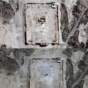 ONU confirma destrucción del templo de Bel en Palmira