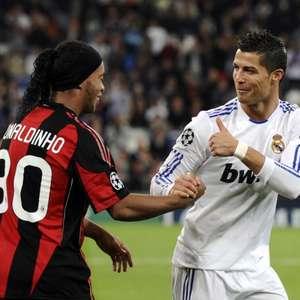 Ronaldinho reta a Cristiano Ronaldo: ¿Quién es mejor?