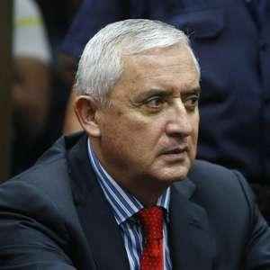 Prisión provisional para expresidente Otto Pérez Molina