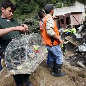 Sobe para 30 número de mortos em deslizamento na Guatemala