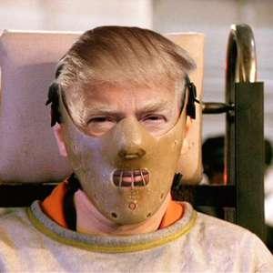 Donald Trump inspira carteles de películas de terror