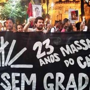 Carandiru: manifestação em SP lembra os 23 anos do massacre