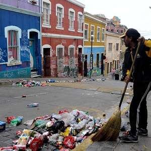 FOTOS: Así amanece Valparaíso tras