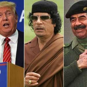 Trump: El mundo sería más seguro con Gadafi y Sadam Hussein