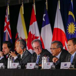 EUA fecham maior acordo comercial da história com 11 países