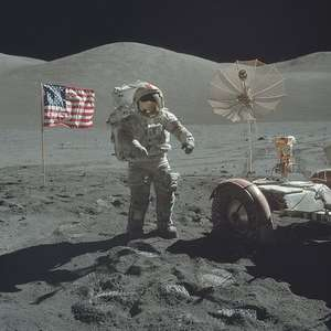 NASA da a conocer increíbles fotos de las misiones a la Luna