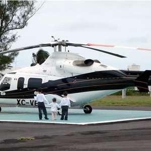 Helicóptero cae en zona urbana de Veracruz y deja 2 muertos