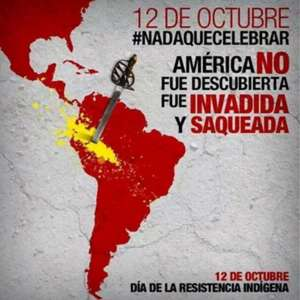 Polémica en redes sociales por festejos del 12 de octubre
