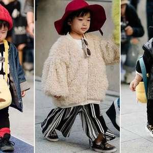 Cheias de estilo, crianças viram sensação em desfile