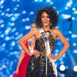 Raissa Santana lamenta colocação no Miss Universo
