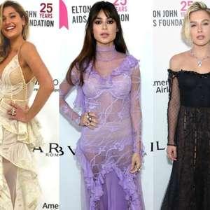 Sasha e Thaila Ayala usam transparência em festa pós-Oscar