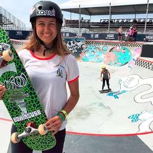 De olho em 2020, jovem de 16 anos é nova promessa do skate