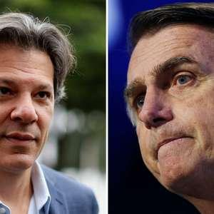 Haddad e Bolsonaro fazem aceno ao mercado