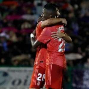Vinicius Junior comemora: 'Feliz por ajudar o Real a vencer'