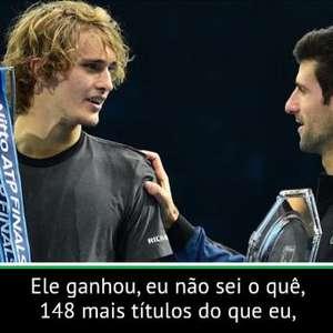 """Zverev: """"Se posso ganhar mais que Djokovic? Espera, ..."""